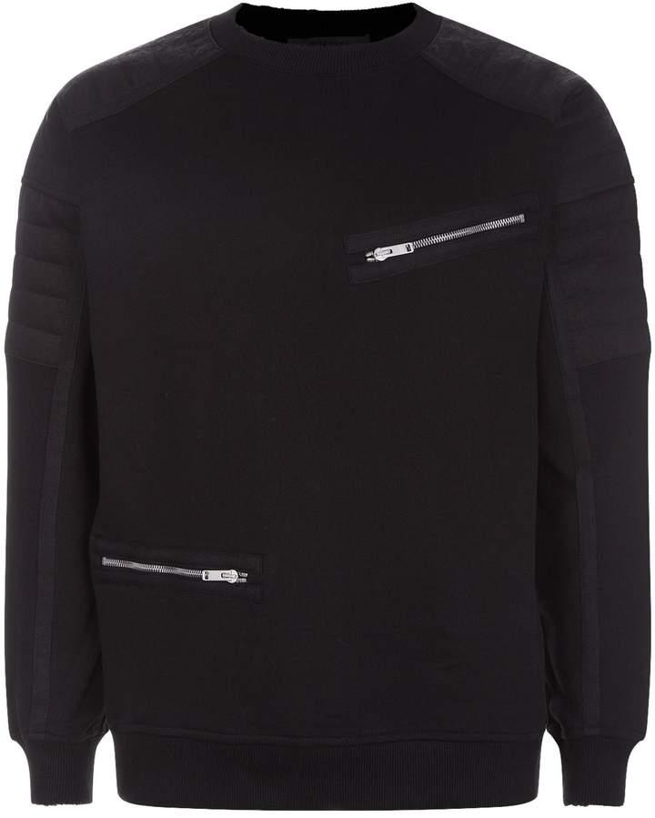 Givenchy Biker Sweatshirt