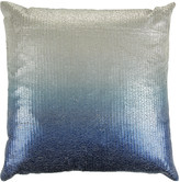 Aviva Stanoff Couture Sequin Cushion - 50x50cm - Ombre Twilight