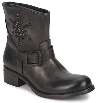 JFK OSSIR women's Mid Boots in Black