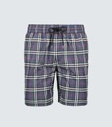 Burberry Classic check-printed swim shorts