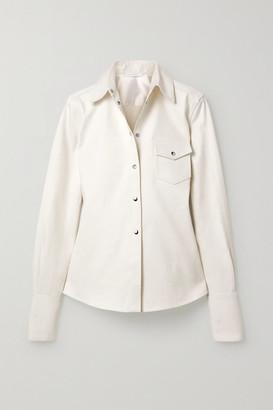 Peter Do Cotton-twill Shirt - Ivory