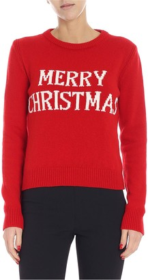 Alberta Ferretti Merry Christmas Sweater