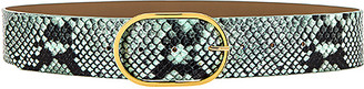 B-Low the Belt Emmie Python Belt