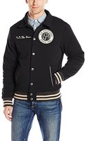 U.S. Polo Assn. Men's Baseball Fleece Jacket