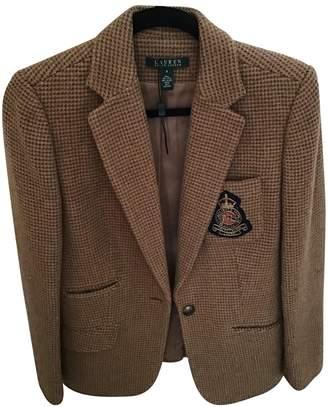 Lauren Ralph Lauren Brown Wool Coat for Women