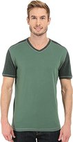 Agave Men's Rubicon Short Sleeve Base Ball V-Neck T-Shirt