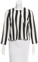 A.L.C. Striped Silk Blouse