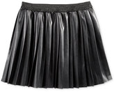 Epic Threads Faux-Leather Pleated Skirt, Big Girls (7-16), Only at Macy's