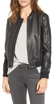 BB Dakota Women's Braver Faux Leather Bomber Jacket