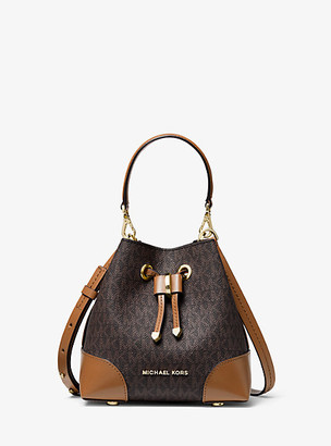 Michael Kors Mercer Gallery Extra-Small Logo Crossbody Bag