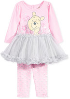 Nannette Baby Girls' 2-Pc. Winnie the Pooh Tutu Tunic & Leggings Set
