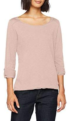S'Oliver Q/S designed by Women's 45.899.31.0492 Longsleeve T-Shirt, (Mellow Pink 4056)