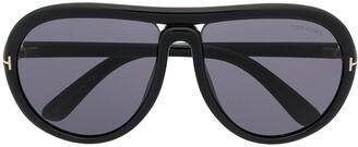 Tom Ford Cybil oversized frame sunglasses