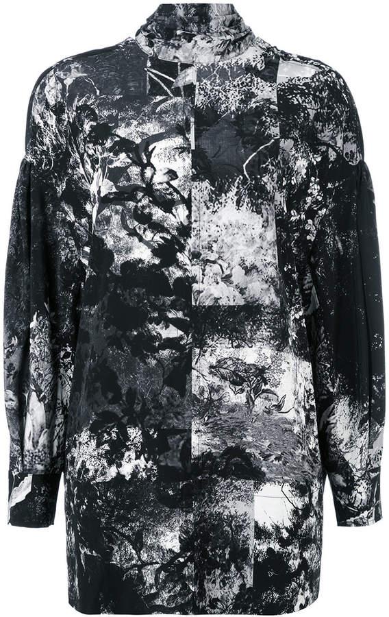 A.F.Vandevorst patterned blouse