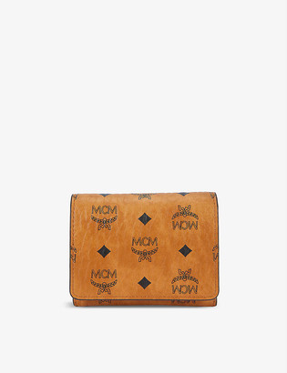 MCM Visetos faux-leather wallet