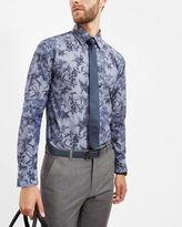GUDVIBE Floral cotton shirt