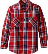 Tommy Hilfiger Jazz Long Sleeve Shirt (Toddler/Little Kids)