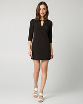 Le Château Double Weave Tunic Dress
