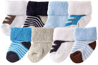 Baby Vision Luvable Friends Socks, 8-Pack, 0-12 Months