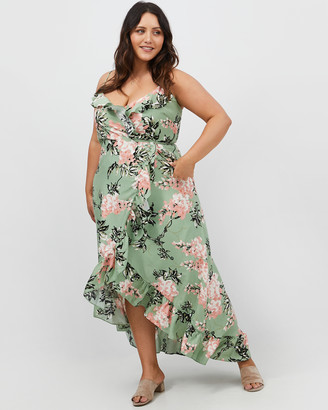 You & All Floral Wrap Dress