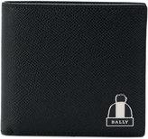Bally logo plaque wallet