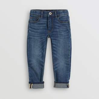 Burberry Childrens Skinny Fit Stretch Jeans Size: 6Y