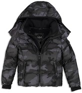SAM. Boys' Camo-Print Down Jacket - Little Kid
