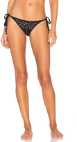 Pilyq Laser Tie Teeny Bikini Bottom