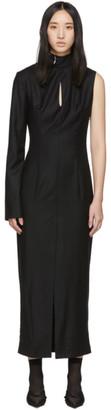 Materiel Tbilisi Black Back Detail Single Sleeve Dress