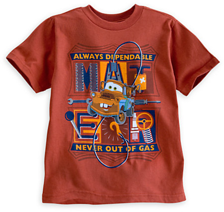 Disney Tow Mater Tee for Boys