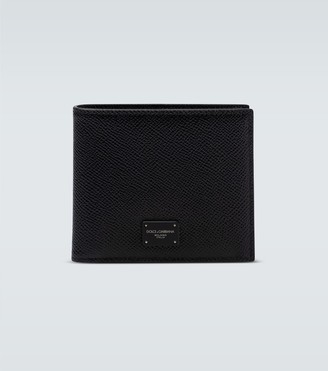 Dolce & Gabbana Grained leather wallet