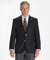 Brooks Brothers Country Club Saxxon Wool Two-Button Blazer