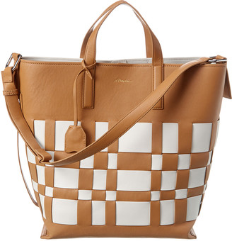 3.1 Phillip Lim Odita Lattice Leather Tote