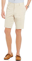 HUGO BOSS BOSS Green Clyde Flat-Front Regular-Fit Basic Chino Shorts