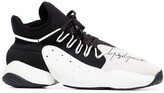 Y-3 Y 3 Leather Basketball Trainers