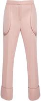 Simone Rocha Pink Technical Mesh Straight Legged Pants