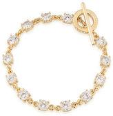 Carolee 12K Goldplated Brass Flex Bracelet