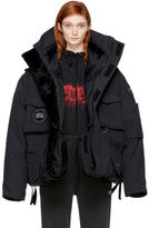 Vetements Navy Canada Goose Edition Down Parka