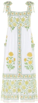 Juliet Dunn Exclusive to Mytheresa a Floral cotton dress