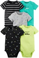 Carter's Baby Boys Multi-Pack Bodysuits, Assorted
