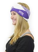 Women's ZooZatz TCU Horned Frogs Criss-Cross Headband