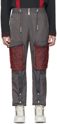 A-Cold-Wall* Grey Mesh Pocket Cargo Pants