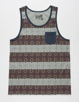Retrofit Mosaic Tile Mens Pocket Tank