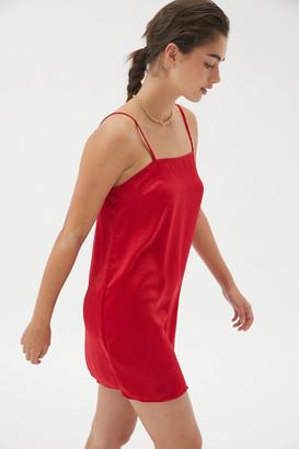 Urban Renewal Vintage Remnants Slip Mini Dress