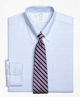 Brooks Brothers Non-Iron BrooksCool® Madison Fit Parquet Check Dress Shirt
