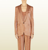 beyonce knowles  Who made  Beyonce Knowles pink pants suit?