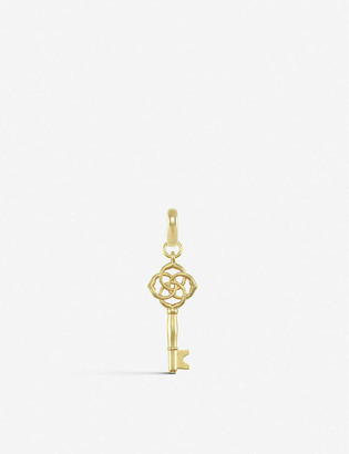 Kendra Scott Home and Shelter 14ct rose gold-plated charm