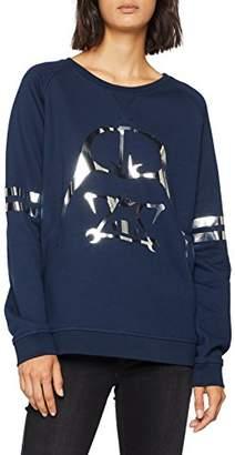dv Alvarno Women's Sweater Geométrico Sweatshirt,Large (Size:Large)