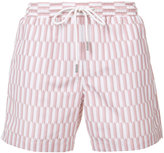 Katama - striped shorts - men - Polyester - 30