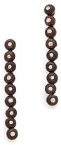 L'Agence Beaded Bar Earrings
